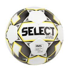 SELECT FB Futsal Master nogometna lopta, vel. 4, bijelo žuta
