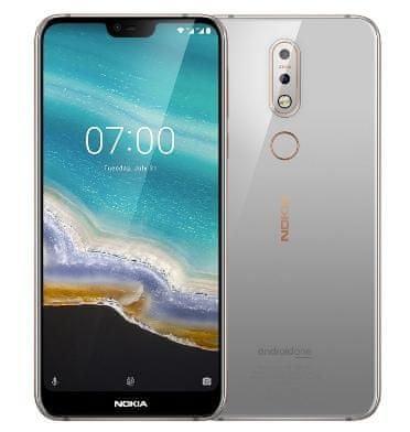 Nokia 7.1, 4GB/64GB, Dual SIM, Steel