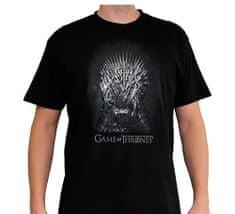 Game of Thrones Pánské tričko Hra o trůny - Iron Throne Velikost: M