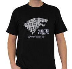 Game of Thrones Pánské tričko Hra o trůny - Stark černé