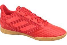 Adidas Predator 19.4 IN Jr CM8552 34 Czerwone