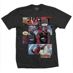 Deadpool Pánské tričko Deadpool - Komiks Velikost: XL