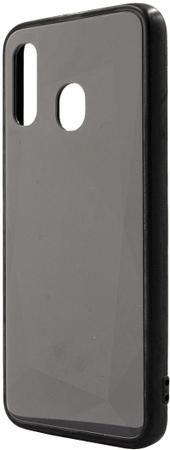 EPICO COLOUR GLASS CASE Samsung Galaxy A40, fekete, 38310151300001