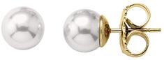 Majorica Strieborné náušnice s pravými perlami 00323.01.1.000.701.1 striebro 925/1000
