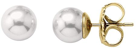 Stříbrné náušnice s perlami 00323.01.1.000.701.1 stříbro 925/1000