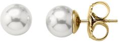 Majorica Ezüst fülbevalók valódi gyöngyökkel 00324.01.1.000.701.1 ezüst 925/1000