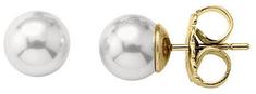 Majorica Ezüst fülbevalók valódi gyöngyökkel 00326.01.1.000.701.1 ezüst 925/1000