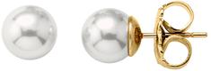 Majorica Ezüst fülbevalók valódi gyöngyökkel 00322.01.1.000.701.1 ezüst 925/1000