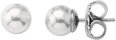 Majorica Strieborné náušnice s pravými perlami 00322.01.2.000.701.1 striebro 925/1000