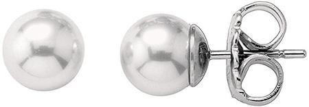 Majorica Stříbrné náušnice s perlami 00323.01.2.000.701.1 stříbro 925/1000