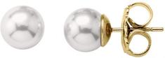 Majorica Strieborné náušnice s pravými perlami 00325.01.1.000.701.1 striebro 925/1000