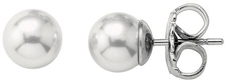 Majorica Ezüst fülbevalók valódi gyöngyökkel 00326.01.2.000.701.1 ezüst 925/1000