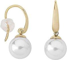 Majorica Aranyozott ezüst fülbevalók valódi gyöngyökkel 11845.01.1.000.010.1 ezüst 925/1000