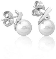 Majorica Ezüst fülbevalók valódi gyöngyökkel 15299.01.2.000.010.1 ezüst 925/1000