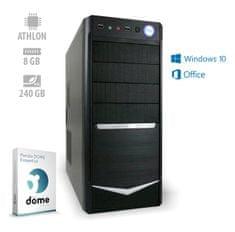 mimovrste=) Optimal 4 Pro namizni računalnik (ATPII-CX3-7786) + 1 leto Office 365 Personal