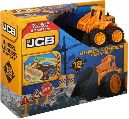 JCB igralni set, 18 cm