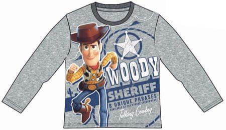 Disney by Arnetta Toy Story fantovska majica, siva, 98