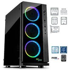 PCplus namizni gaming računalnik Dream machine i7-8700/16GB/SSD500GB+2TB/RTX2060/FreeDOS (138651)