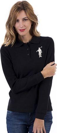 Polo Club C.H.A koszulka damska polo czarna L