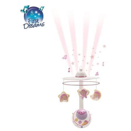 Chicco Magic Star Projektor do postýlky, růžový