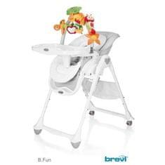 Brevi Židlička B-Fun 607 šedá