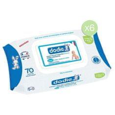 Dodie Sada 6 balení vlhčených dermatologických ubrousků