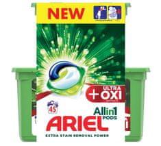 Ariel Gélové kapsuly Ultra OXI All in 1 - 45 ks