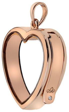 Hot Diamonds Obesek za srce Anais EX004 srebro 925/1000