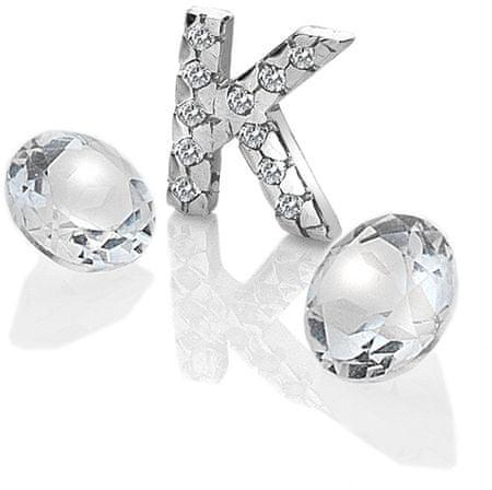 """Hot Diamonds Anais """"K"""" betű és topáz elemek EX230 ezüst 925/1000"""
