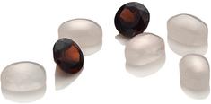 Hot Diamonds Elementy z pięcioma diamentami i dwoma granatami Hot Diamonds Anais AG007 srebro 925/1000