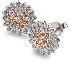 Hot Diamonds Strieborné náušnice Emozioni Spirzzare EE032 striebro 925/1000