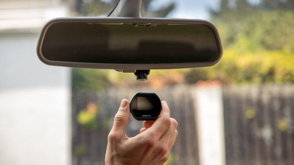autóskamera Lamax T6 felvételek lezárása 128 GB G-érzékelő