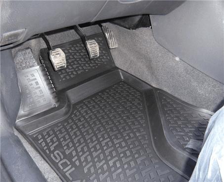 SIXTOL Gumové koberce BMW 1-er (F20) (5-dv) (09/2011-) (3D)
