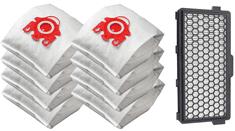KOMA Sada příslušenství pro vysavače MIELE S4, S5, S6, S8, 8 ks sáčků, 1ks HEPA filtr
