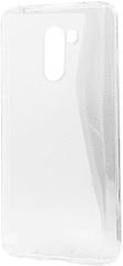 EPICO RONNY GLOSS CASE maska za Xiaomi Pocophone F1, bijela - transparentna, 34610101000001