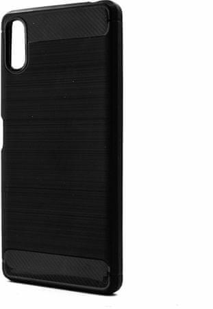 EPICO CARBON ovitek za Sony Xperia L3, črn, 36410101300002