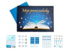 KidPro Kniha: Moje první milníky pro chlapečky + samolepky