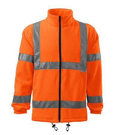 ADLER Czech Fleece unisex Rimeck HV Jacket 5V1 fluorescenční oranžová L