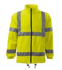 ADLER Czech Fleece unisex Rimeck HV Jacket 5V1 fluorescenční oranžová M