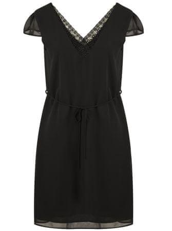NAFNAF dámské šaty L-Piadina LHNR33D 36 černá