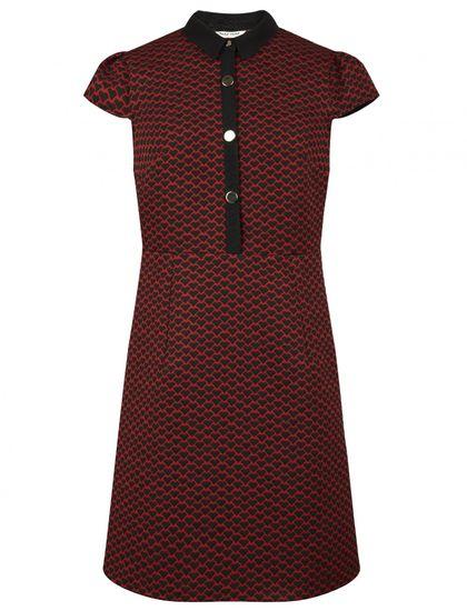 NAFNAF dámské šaty Ecoeur LHNR2D 36 červená