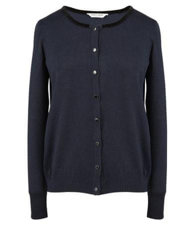 NAFNAF ženski pulover M-Base LHNG1, S, temno moder