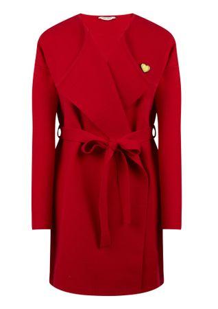 NAFNAF Mored ženska obleka LHNG11, L, rdeča