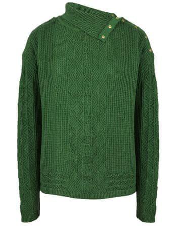 NAFNAF dámský svetr Nabache LHNU7 S zelená