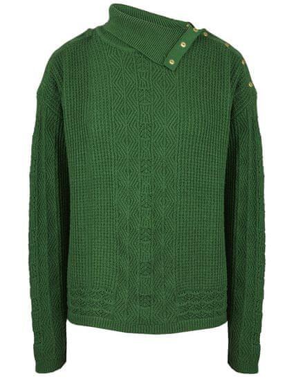 NAFNAF dámsky sveter Nabache LHNU7 M zelená