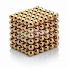 Sell Toys Neocube originál 5 mm v dárkovém balení zlatý