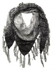 NAFNAF dámsky čierny šál Vlena LHNX02A6