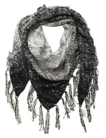 NAFNAF dámská černá šála Vlena LHNX02A6