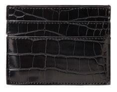 Pieces Dámska peňaženka na karty PCSOPHIA CARD HOLDER Black