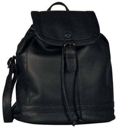 Tom Tailor Juna Backpack ženski nahrbtnik, črn
